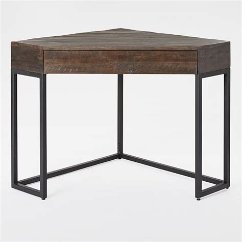 west elm industrial desk logan industrial corner desk west elm