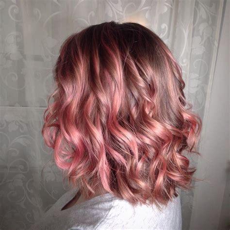 rose gold blonde hair color 116 best rose gold images on pinterest hair colors