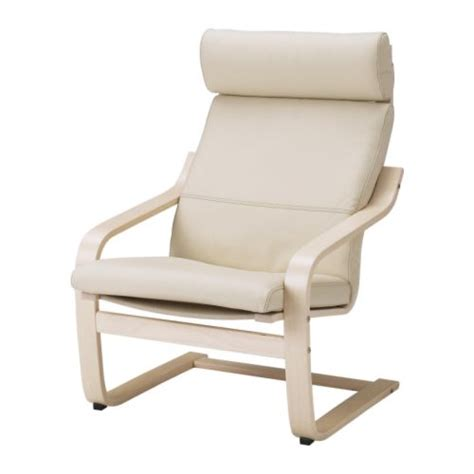 po 196 ng chair cushion glose white ikea