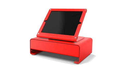 apple ipad compatible cash drawers heckler design windfall cash drawer for ipad the o jays