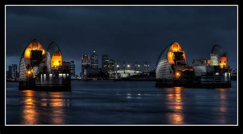 Thames Barrier At Night | 8329445887 e26434b09f z jpg