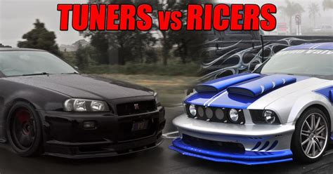 ricer vs tuner tuner vs ricers battle challenge moto cars team