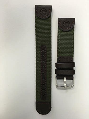 Expedition E6674 Black Leather Green timex q7b805gz timex s q7b805 expedition sport genuine leather 20mm olive green replacement