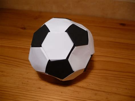 How To Make A Origami Soccer - origami nut 187 origami football