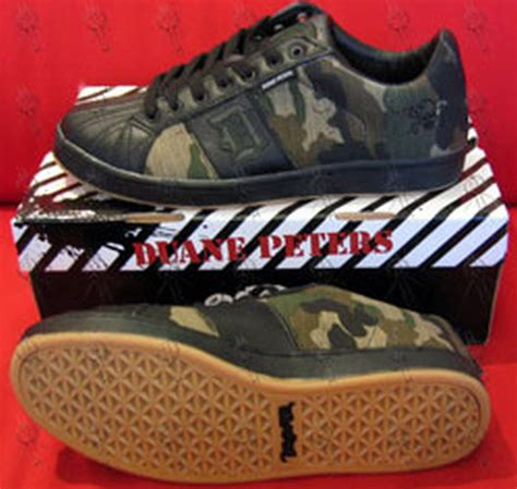 peters duane camo design disaster series skate shoes