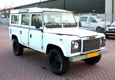 sell used lhd land rover defender v8 ac 12 seat with free