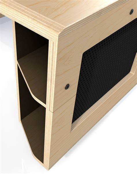 vikter gaming desk plans desk design and prototyping on behance