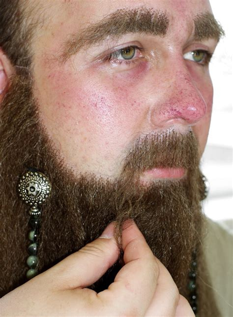beaded beard make up how to maskworld