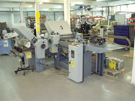 Stahl Paper Folding Machine - folders used finishing machines stahl ti 52 4 4 paper