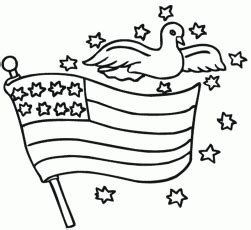 stars and stripes coloring page clip art american colonial flag color stars and