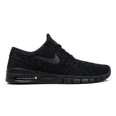 Nike Stefan Jonski Black nike sb stefan janoski max black black pine green