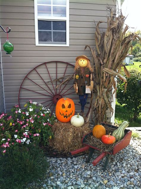 fall decorations for outdoors outdoor fall decorating fall