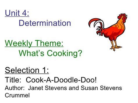 doodle doo theme cook a doodle doo focus wall