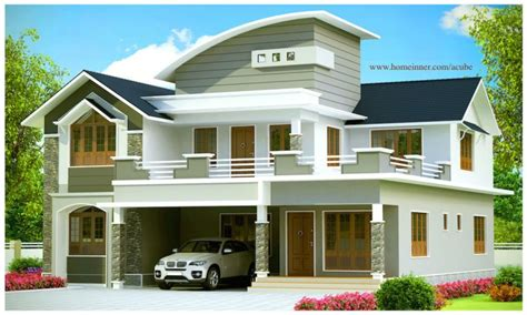 modern home design in kerala 2951 sqft beautiful contemporary kerala house design