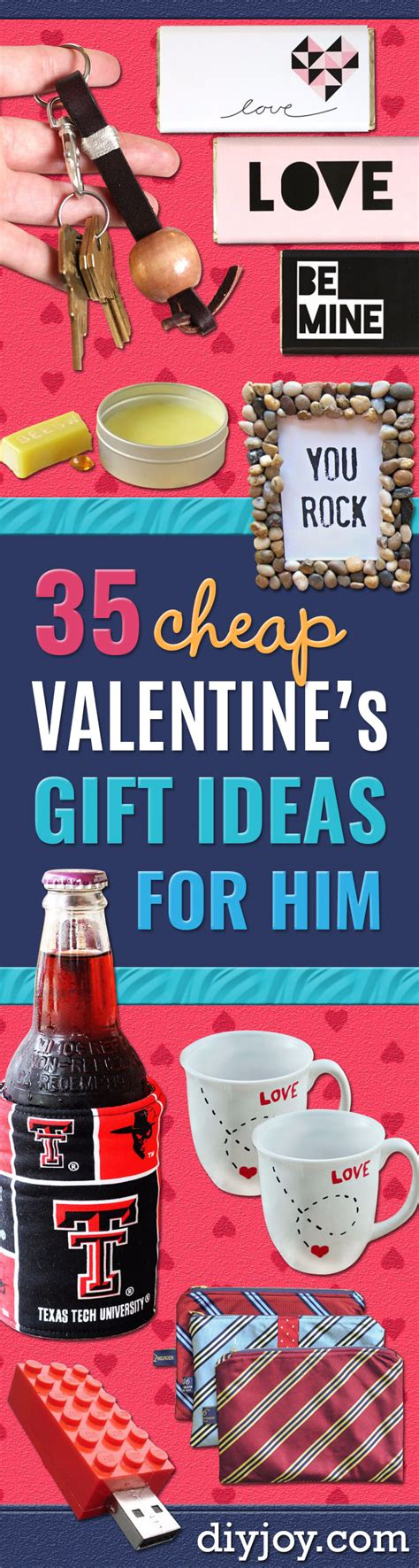 cheap valentines ideas for him 35 cheap s gift ideas for him diy