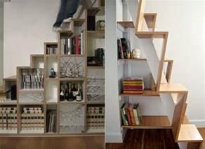 Cheap Small Bookshelves by 65 Ideen F 252 R Stauraum Unter Der Treppe