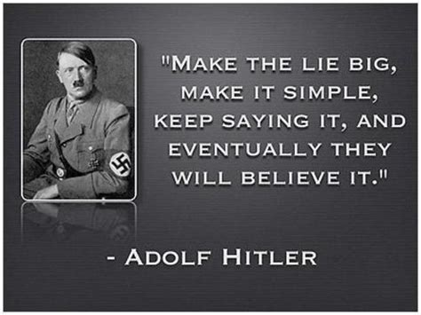 hitler biography simple make the lie big make it simple keep saying it and