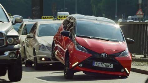 Toyota Meme Commercial - toyota aygo peeing like a dog in new commercial