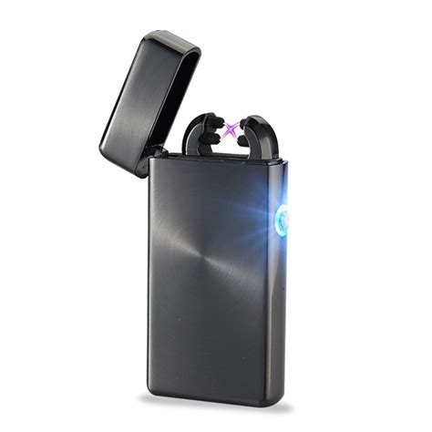Usb Lighter aliexpress buy lighter usb lighter briquet usb sans flamme dual arc rechargeable lighters