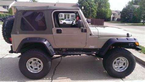 2003 Jeep Wrangler Se Buy Used 2003 Jeep Wrangler Se Sport Utility 2 Door 4 0l