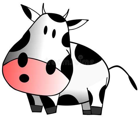 clipart mucca mucca immagine stock illustrazione di podere felice