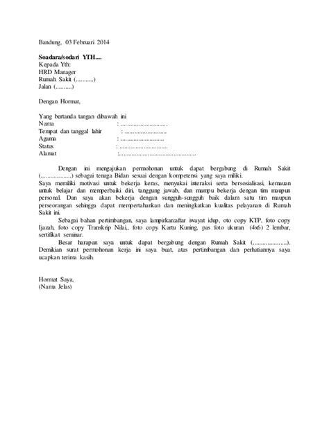 format surat lamaran kerja bidan contoh surat lamaran bidan http contohsurat