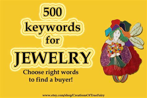 1580 Jewelry keywords Top etsy keywords Search
