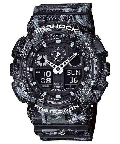 Jam Tangan Pria Casio G Shock Ga 100 Auto Light Active Murah jual jam tangan pria casio g shock ga 100mrb 1a baru jam