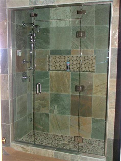 Glass Door Shower Enclosures Shower Doors Are Normally Made Of Glass To Add Light Glass Nj
