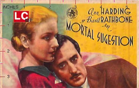 film love from a stranger quot al filo de las nueve quot movie poster quot love from a