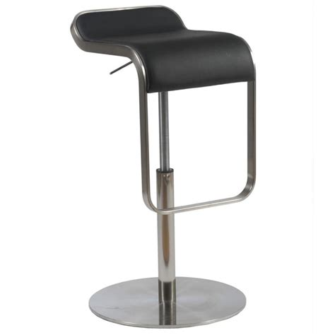 Bar Stool Black by Freddy Leather Bar Stool Black Bar Stools