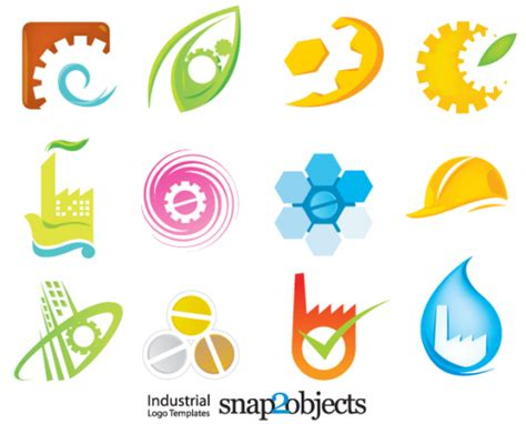 free logo design elements vector free industrial logo elements free download vector ai