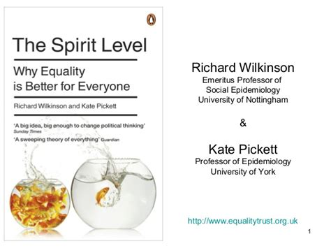 talk the spirit level why equality is better for everyone the spirit level why equality is better for everyone richard wilk