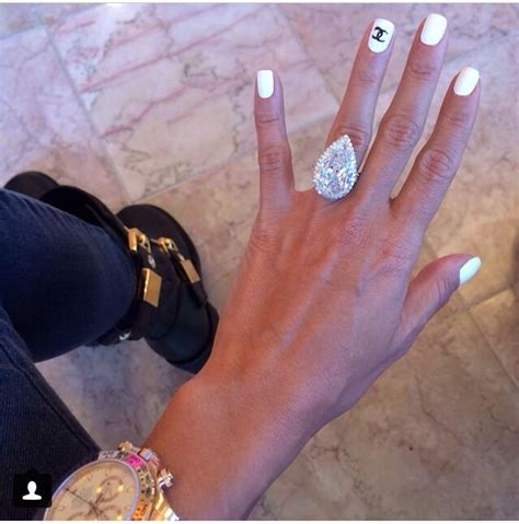 lilly ghalichi s engagement ring lilly ghalichi idol