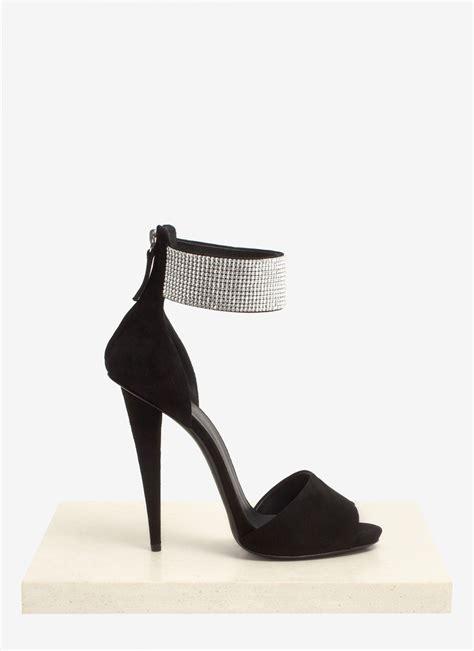 giuseppe zanotti high heels giuseppe zanotti cuff high heel sandals in