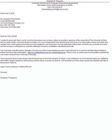 Sle Cover Letter For Internship letter sle for opportunity 28 images thank you letter