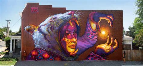 graffiti hecho por una talentosa mujer llamada natalia rak