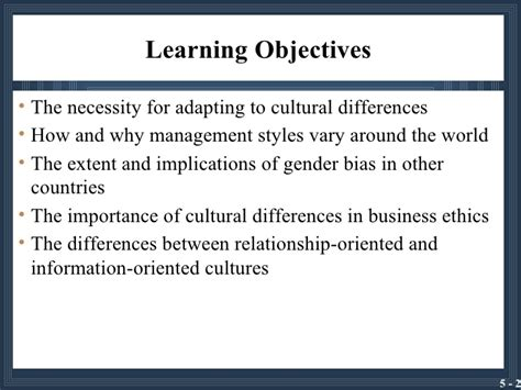 management styles in different countries culture management style and business systems