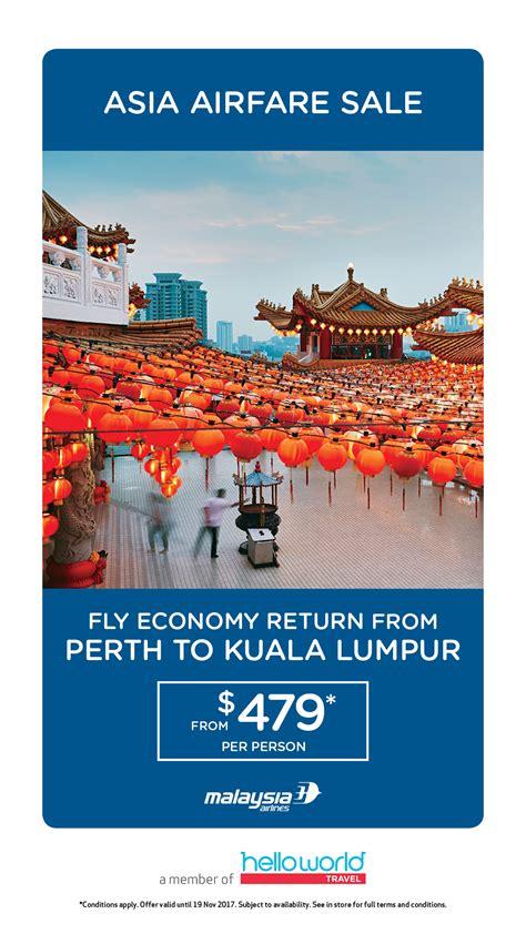 malaysia airlines asia airfare sale motive travel