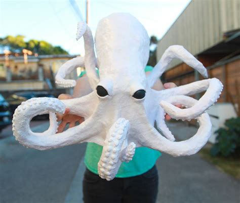 Paper Mache Craft Ideas For Adults - 25 best ideas about octopus crafts on