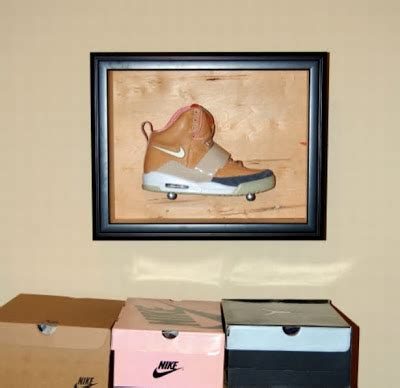 phly outta mind sneaker frame display