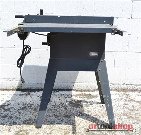 Table Saws At Sears by Sears 10 Quot Direct Drive Table Saw Model 113 298090 0127 74