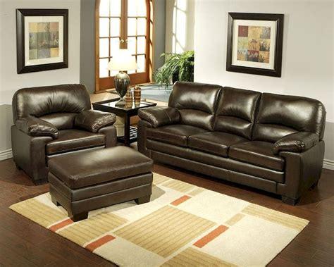 abbyson living leather sofa abbyson living sofa set montecito ab 55ch 1953 brn 3 1 4