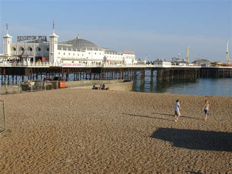 the palace pier and theatre brighton later brighton pier brighton pier