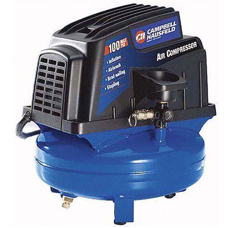 cbell hausfeld 100 psi air compressor with inflation kit 1 gallon walmart