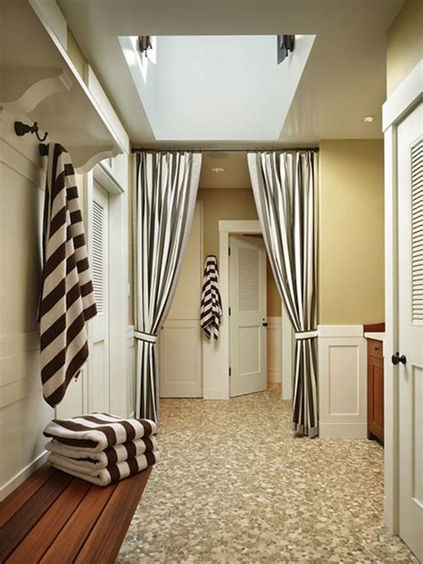 black and white drape black and white striped drapes design ideas