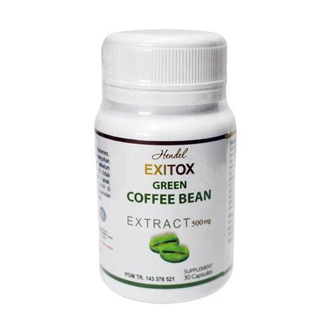 Green Coffe Bean Suplemen Pelangsing jual suplemen green coffee bean exitox pelangsing