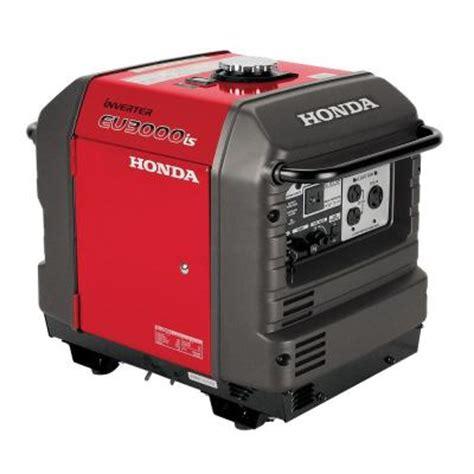 Honda 3,000 Watt Super Quiet Gasoline Powered Electric Start Inverter Generator with Eco
