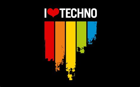 Techno Musik i techno festival world