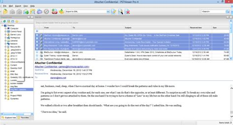 email format eml working with eml email files december 2012